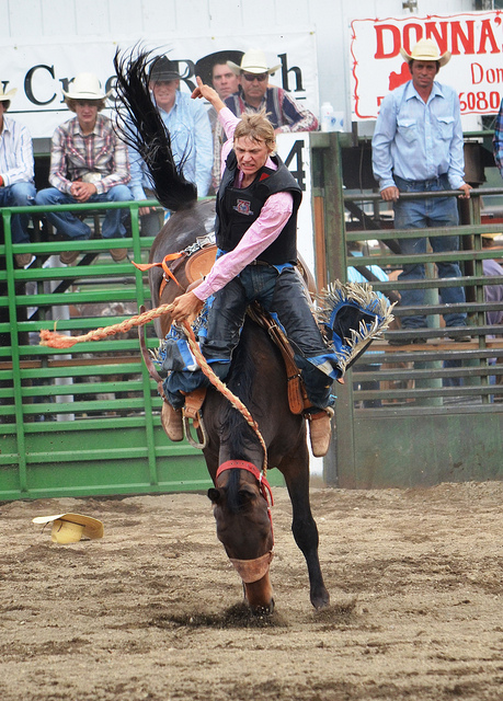 Baker County Rodeo Action