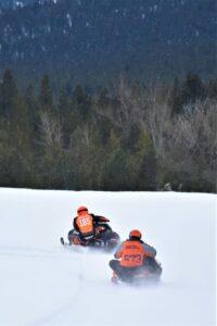 VIntage Snowmobile Races Sumpter