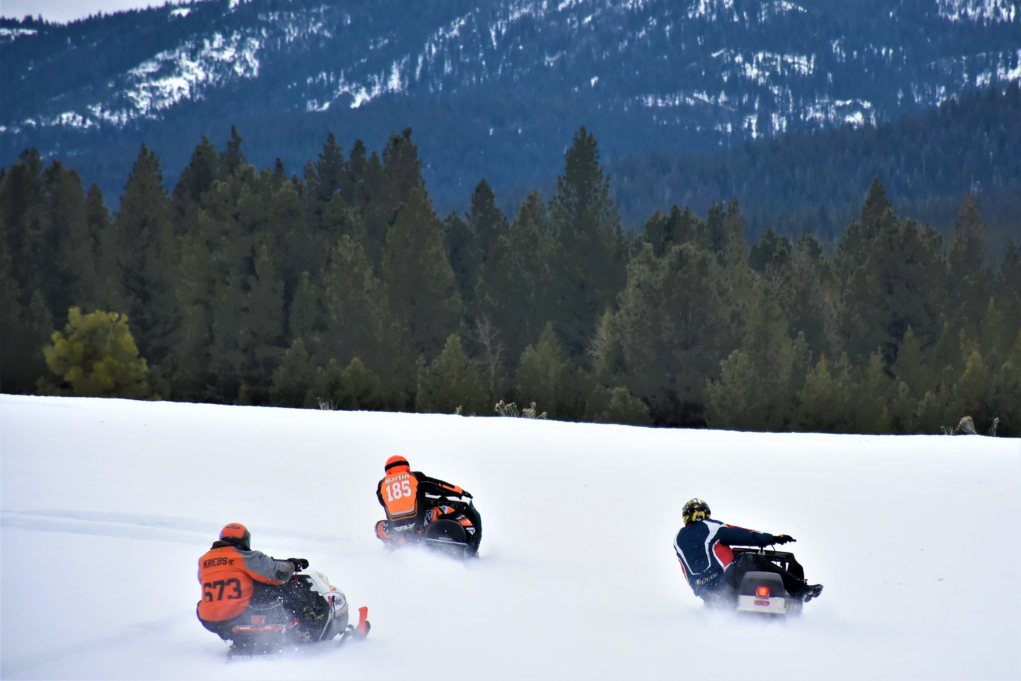 Vintage Snowmobiles Travel Baker County