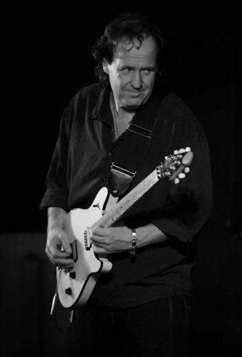 Guitarist Eric Sugar Larsen
