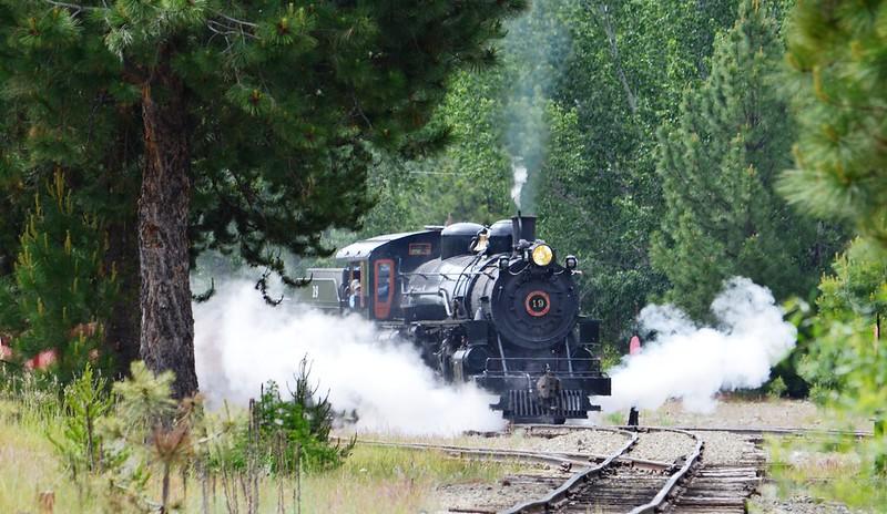 Sumpter Valley Railroad Historic Steam Train